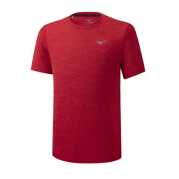 Mizuno Impulse Core Tee Mens | High Risk Red