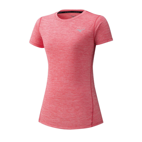 Mizuno Impulse Core Tee Womens | Sugar Coral