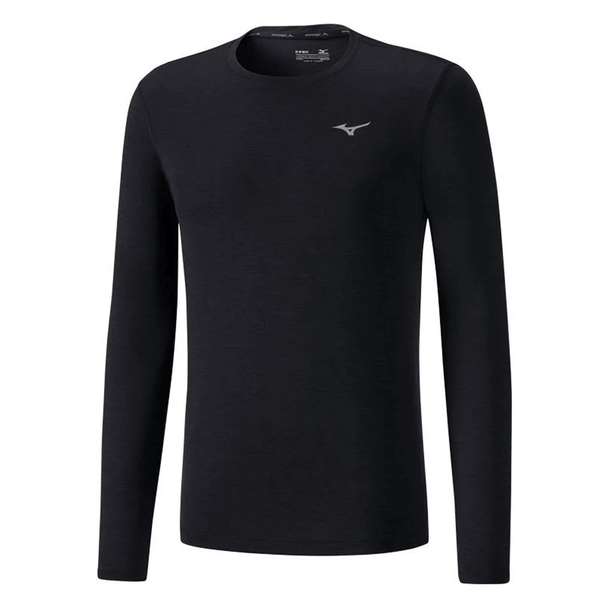 Mizuno Mens Impulse Core Long Sleeve Tee | Black
