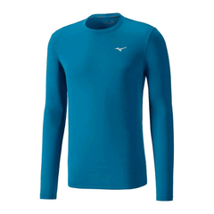 Mizuno Mens Impulse Core Long Sleeve Tee | Astral Aura