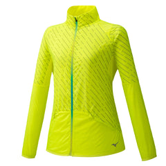 Mizuno Reflect Wind Jacket Womens | Safety Yellow