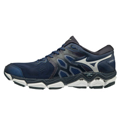 Mizuno Wave Horizon 3 Mens | Eblue/Silver/Campanula