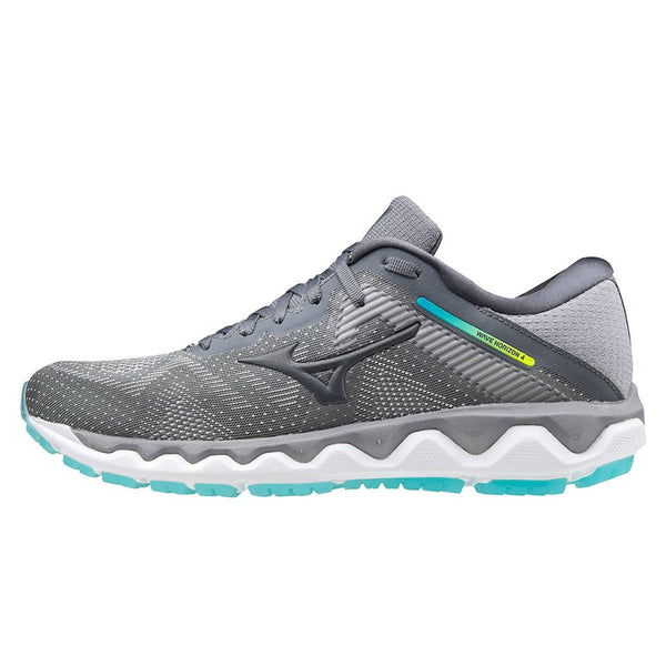 Mizuno Wave Horizon 4 Womens | Fgray/castlerock/scubabl