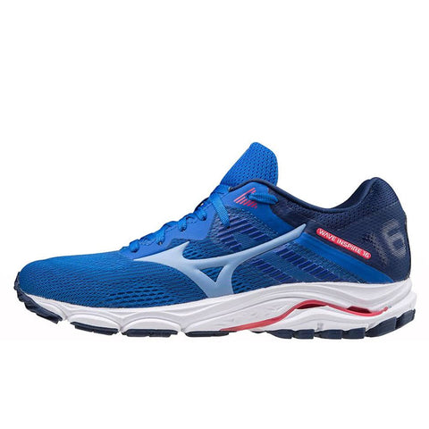 Mizuno Wave Inspire 16 Womens | Pblue/dellarobbiablue/dp