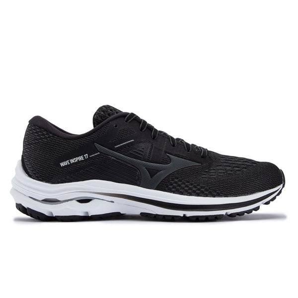 Mizuno Wave Inspire 17 Womens | Darkshadow/lunarrock/blk