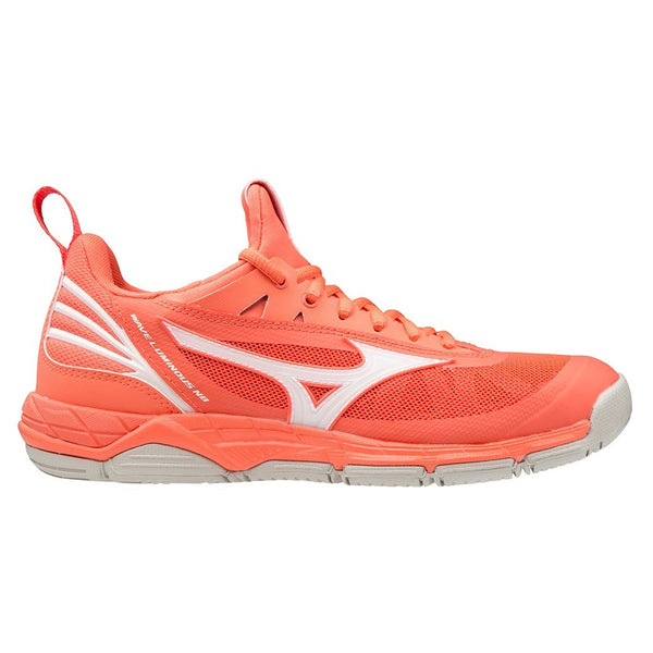 Mizuno Wave Luminous Nb Womens | Livingcoral/snowwhite