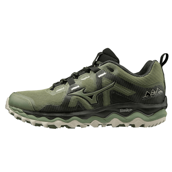 Mizuno Wave Mujin 6 Womens | Olivine/Black