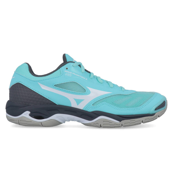 Mizuno Wave Phantom 2 Nb Womens | Arubablue/Wht/Sgray