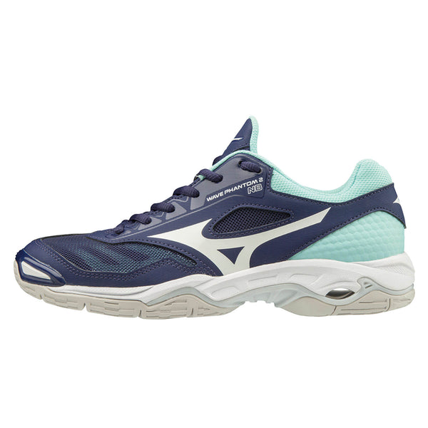 Mizuno Wave Phantom 2 Nb Womens | Astralaura/Wht/Bluelight