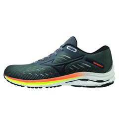 Mizuno Wave Rider 24 Mens | Crock/phantom/orange