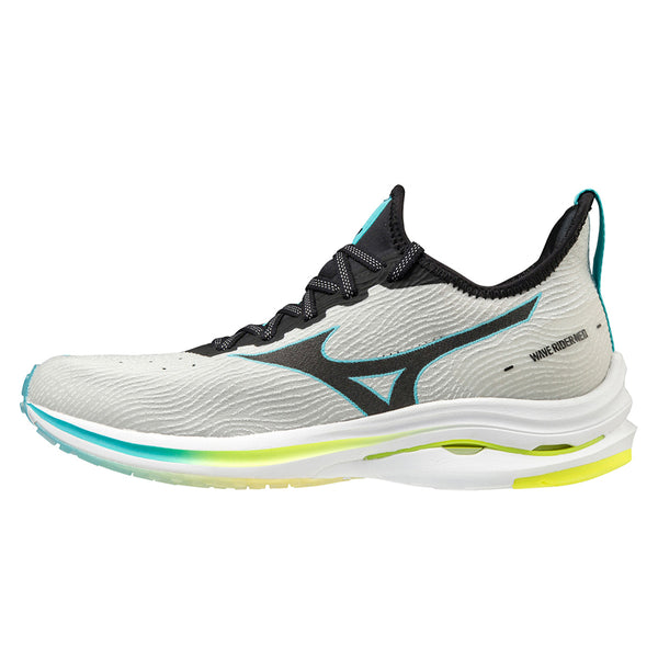 Mizuno Wave Rider Neo Womens | Lunarrock/black/sblue