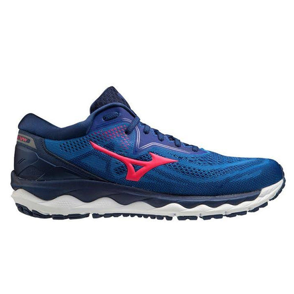 Mizuno Wave Sky 4 Mens | Pblue/divapink/2768c