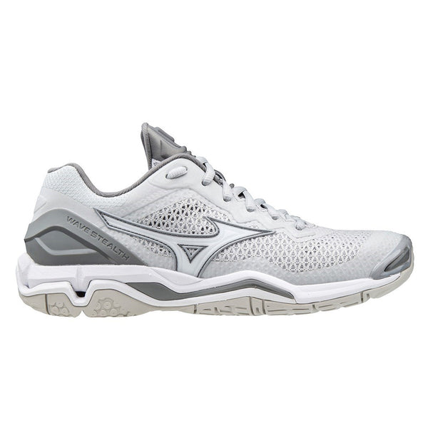 Mizuno Wave Stealth V Nb Womens | Harbormist/wht/qshade
