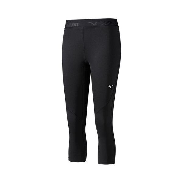 Mizuno Womens Impulse Core 3/4 Tight | Black