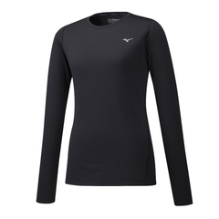 Mizuno Womens Impulse Core Long Sleeve | Black