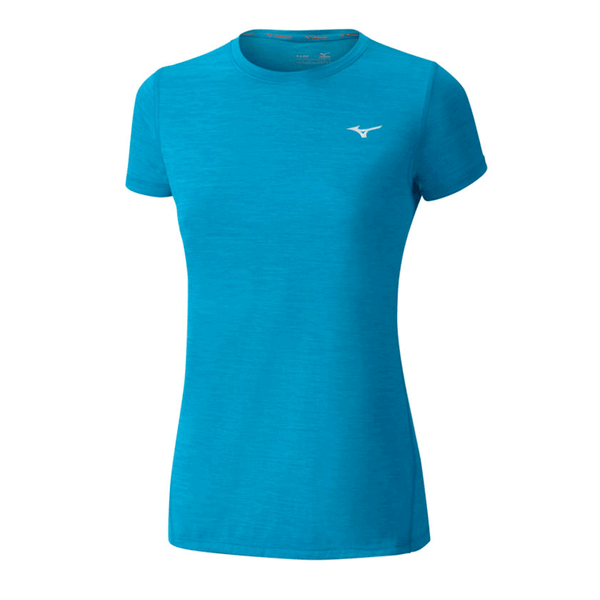 Mizuno Womens Impulse Core Tee | Ocean