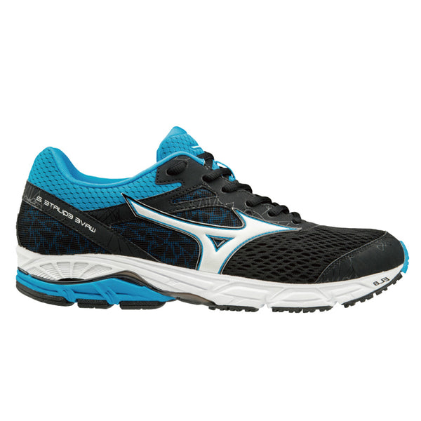 Mizuno Wave Equate 2 Mens | Black/white/divablue