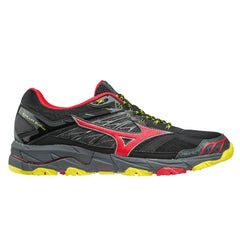 Mizuno Wave Mujin 4 Mens | Black/Formulaone/Flash