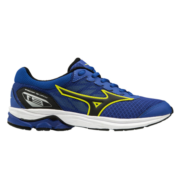 Mizuno Wave Rider 21 Junior | Surf/Black/Lime