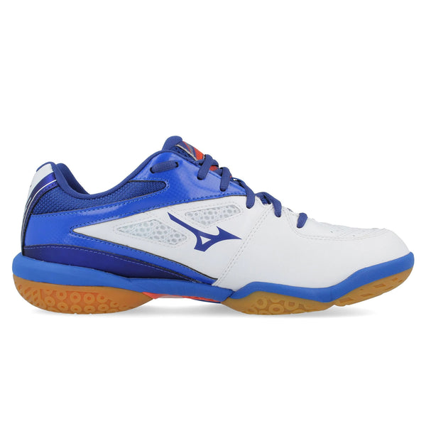 Mizuno Wave Fang Sl Indoor Court Shoes | White/Sodaleteblue