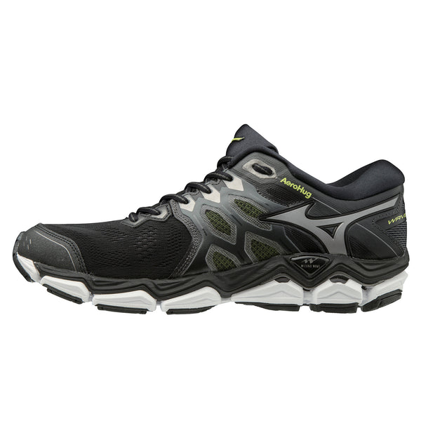 Mizuno Wave Horizon 3 Mens | Black/Mshadow/Syellow