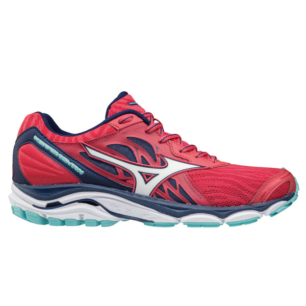 Mizuno Wave Inspire 14 Womens | Teaberry/Whi/Bluedep