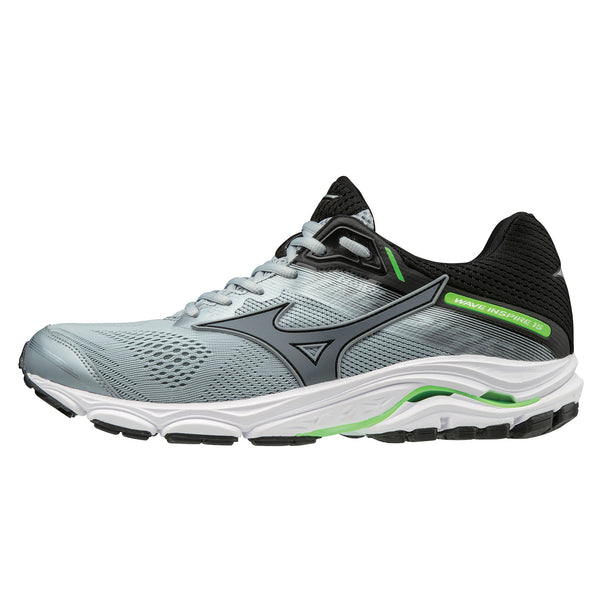 Mizuno Wave Inspire 15 Mens | Quarry/Sweather/Ggecko