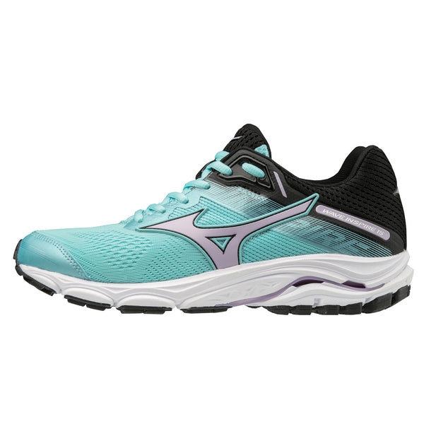 Mizuno Wave Inspire 15 Womens | Angelblue/Lfrost/Black
