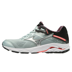 Mizuno Wave Inspire 15 Womens | Skygray/Silver/Fcoral