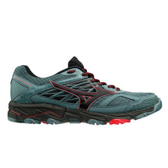 Mizuno Wave Mujin 5 Mens | Quarry/Black/Brillblue