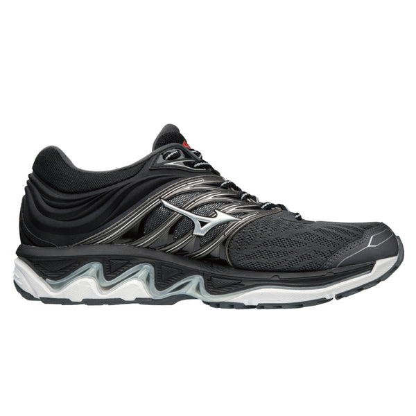 Mizuno Wave Paradox 5 Mens | Darkshadow/Silver/Fred