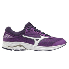 Mizuno Wave Rider 22 Junior Shoes | Bviolet/White/Purpleplum