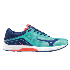 Mizuno Wave Sonic Womens | Turquoise/Blue/Coral