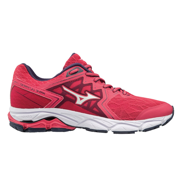 Mizuno Wave Ultima 10 Womens | Teaberry/Whi/Eveblue