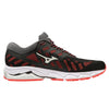 Mizuno Wave Ultima 11 Womens | Black/White/Fierycoral