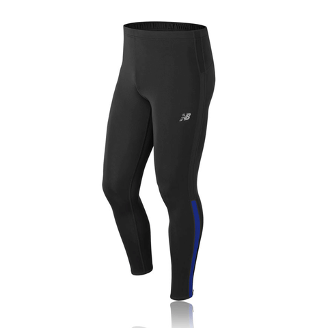 New Balance Mens Accelerate Tight | Black/team Royal