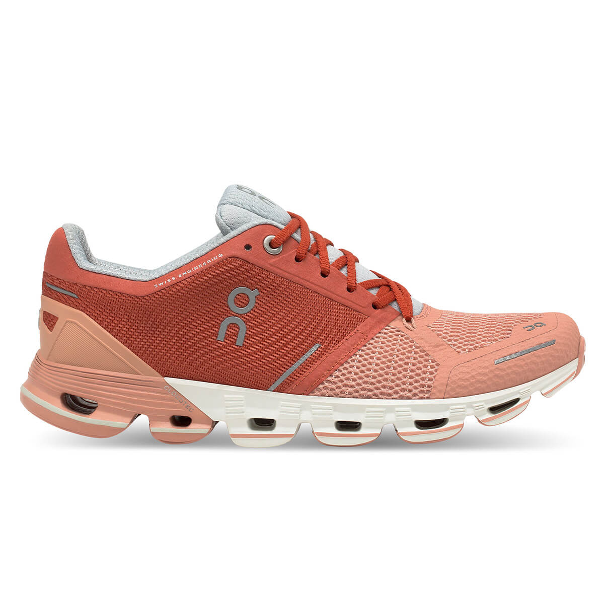 ON CloudFlyer 2 Womens   Ginger/White