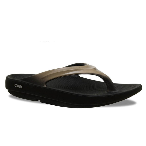 Oofos Oolala Womens Recovery Flip Flop | Latte