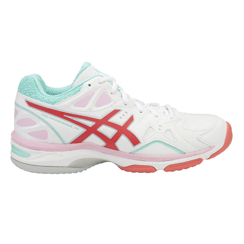 Asics Gel-Netburner 18 (D) Womens | White