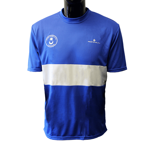 Portsmouth Joggers Short Sleeve Tee Womens | Blue