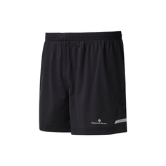 Ronhill Mens Stride 5 Inch Short | Black