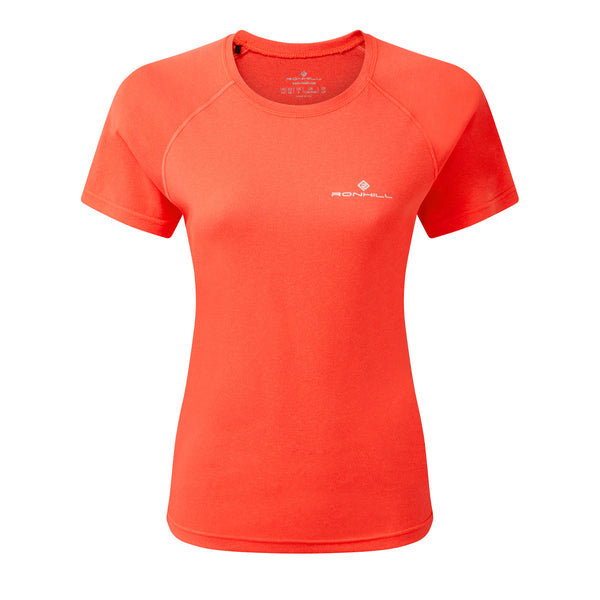 Ronhill Core S/S Tee Womens | Hot Coral