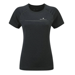 Ronhill Womens Everyday Short Sleeve Tee | Charcoal