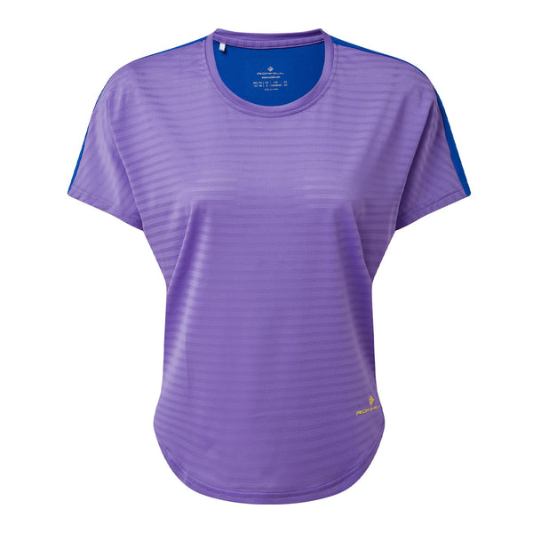Ronhill Life Agile S/S Tee Womens | Lilac/azurite