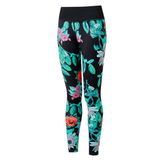 Ronhill Life Tight Womens | Blk/multigothicfloral