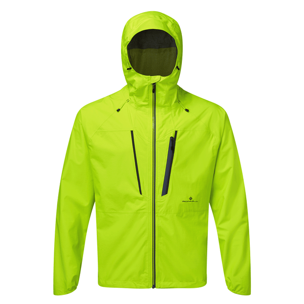 Ronhill Mens Infinity Fortify Jacket | Fluo Yellow