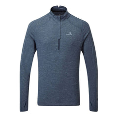 Ronhill Mens Tech Thermal 1/2 Zip | Deep Navy/marl/atlantic