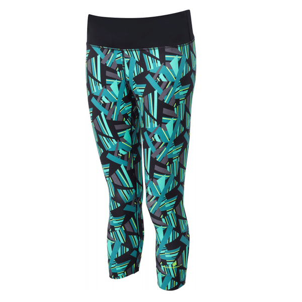 Ronhill Momentum Crop Tight Womens | Jade 1990