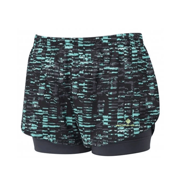 Ronhill Momentum Twin Short Womens | Jade Sponge Art
