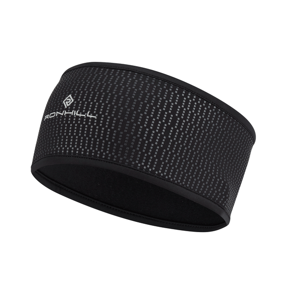 Ronhill Wind-Block Headband | Black
